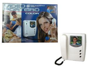 Porteiro Eletronico com Video Porteiro Color HDL