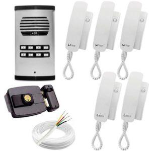 kit-porteiro-eletronico-completo-8-pontos-agl-5-monofones-fechadura-cabo-fonte_1_630