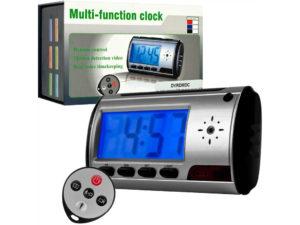 Radio Relogio Digital Espiao com Controle Remoto